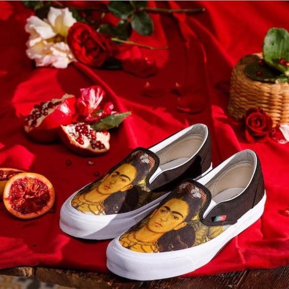 Vans Shoes   Frida Kahlo Vans   Poshmark
